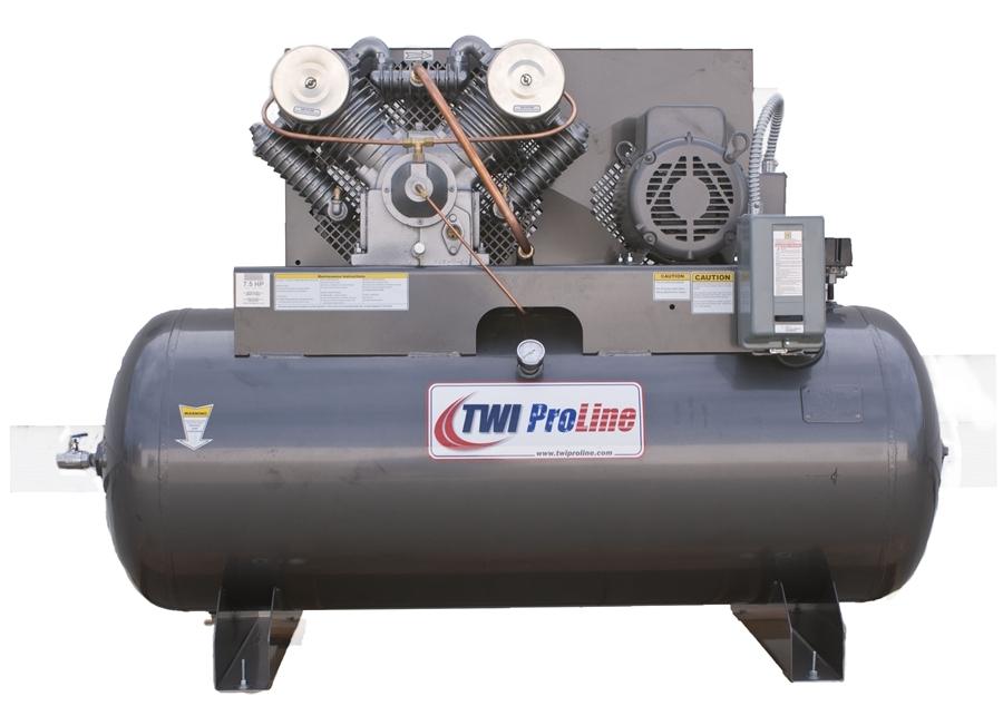 Twi Proline Twi 10120h1 10 Hp 120 Gallon Horizontal 2