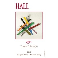 2010 Hall Winery T Bar T Ranch Cabernet Sauvignon 750 ml