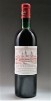 1970 Chateau Cos d'Estournel Bordeaux Red Blend from St. Estephe 750 ml