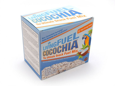 CocoChia® Snack Mix (12 Single Serving Packets)