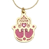 Love Hamsa Necklace by Ester Shahaf