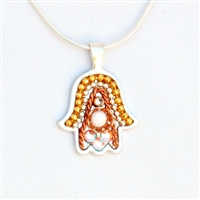 Hamsa Necklace by Ester Shahaf
