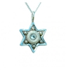 Shiny Star of David Necklace - Small by Ester Shahaf