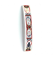 Handcrafted Arched Mezuzah Case by Ester Shahaf