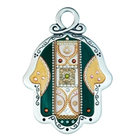 Decorated Hamsa Hand by Ester Shahaf