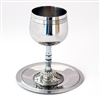 Stainless Steel Kiddush Cup by Ester Shahaf