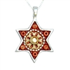 Oriental Star of David Necklace by Ester Shahaf