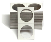 Pack of 100 - 2x2 Cardboard Coin Holder - Pre-1978 Large Dollar Size