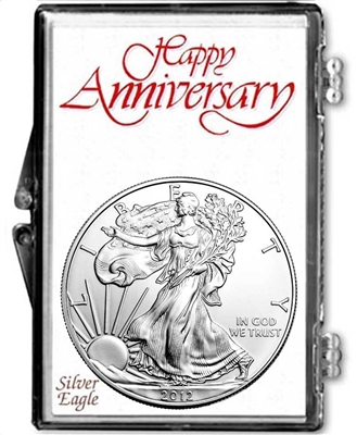 10th Anniversary Coin Gift Package - 2007 Silver Eagle and Anniversary Coin Year Set