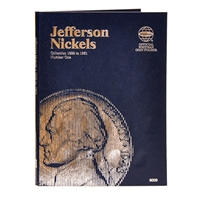 Whitman Folder #9009 - Jefferson Nickel 1938 - 1961 #1