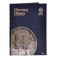 Whitman Folder #9014 - Mercury Dimes 1916 - 1945
