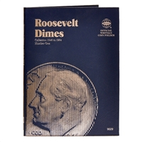 Whitman Folder #9029 - Roosevelt Dime 1946-1964 #1
