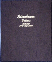 Dansco Deluxe Eisenhower Dollar P,D&S Album #8176