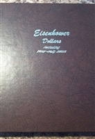 Eisenhower Dollar 32 Coin P, D, & S Set in Dansco Album