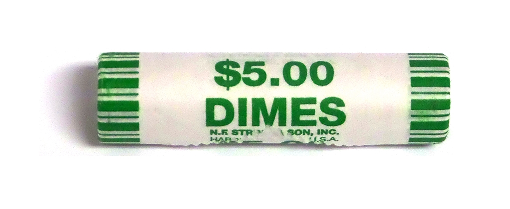 2015 D Roosevelt Dime 50 Coin Roll