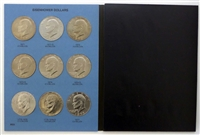 1971-1999 P, D, S 24 Coin Eisenhower and Susan B. Anthony Dollar Uncirculated Set