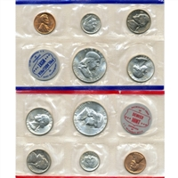 1961 U.S. Mint 10 Coin Set in OGP