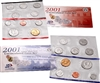 2001 U.S. Mint 20 Coin  Set in OGP with CoA
