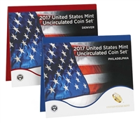 2017 P&D U.S. Mint Uncirculated 20 Coin Mint Set