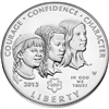 2013 Girl Scouts Centennial Commemorative Uncirculated Silver