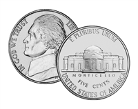 2001 - S Proof Jefferson Nickel