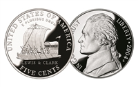 2004 -S Keel Boat Proof Westward Journey Jefferson Nickel