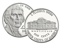 2016 - S Proof Jefferson Nickel - Ultra Cameo