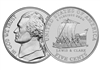 "2004 - P Jefferson Nickel Roll ""Keel Boat"" Design"