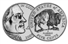 "2005 -P Jefferson Nickel Roll ""American Bison"" Design"