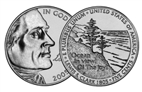 "2005 - P Jefferson Nickel Roll ""Ocean View"" Design"