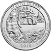 2018 - D Apostle Island National Lakeshore, WI National Park Quarter 40 Coin Roll