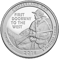 2016  Cumberland Gap, KY National Park Quarter
