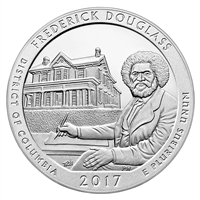2017 - D Frederick Douglass, DC National Park Quarter 40 Coin Roll
