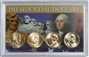 2012 - P Set of 4 Uncirculated Presidential Dollars in Full Color Holder
