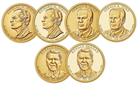 2016 - P,D, and S Presidential Dollar 9 Coin Set
