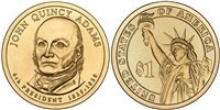 2008 John Quincy Adams Presidential Dollar - 2 Coin P&D Set