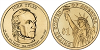 2009 John Tyler Presidential Dollar - 2 Coin P&D Set