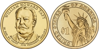 2013 William Taft Presidential Dollar - 2 Coin P&D Set