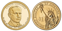 2014 Calvin Coolidge Presidential Dollar - 2 Coin P&D Set