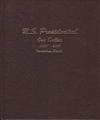 Presidential Dollars in Dansco Deluxe Album
