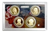 2008 Presidential 4-coin Proof Set - No Box or CoA
