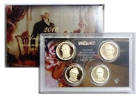2010 Presidential 4-coin Proof Set w/Box & COA