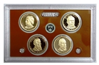 2011 Presidential 4-coin Proof Set - No Box or CoA