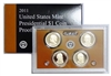 2011 Presidential 4-coin Proof Set w/Box & COA