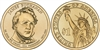 2010 - P James Buchanan - Roll of 25 Presidential Dollar