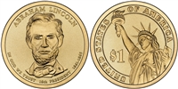 2010 - P Abraham Lincoln - Roll of 25 Presidential Dollar