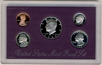 1989 U.S. Mint Clad Proof Set in OGP with CoA