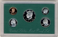 1996 U.S. Mint Clad Proof Set in OGP with CoA