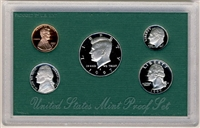1997 U.S. Mint Clad Proof Set in OGP with CoA