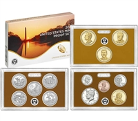 2016 U.S. Mint Clad Proof Set in OGP with CoA